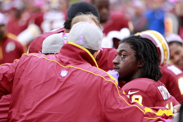 Robert Griffin III thinks he'll play next week