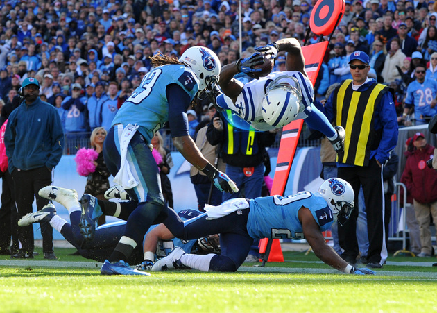 Vick Ballard has one of the plays of the year to give the Colts…