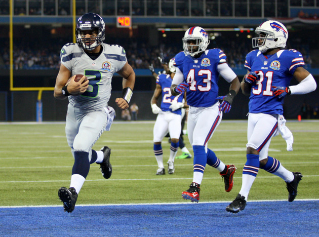 Russell Wilson gets three rushing TDs to set a Seahawks QB reco…