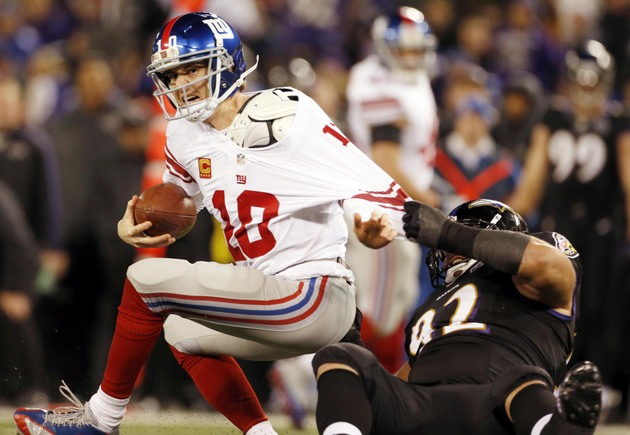 Giants have a meltdown in Baltimore, Cowboys' NFC East hopes al…