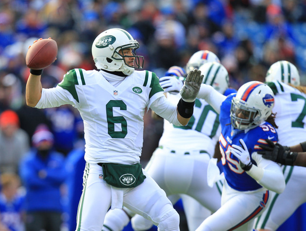 Mark Sanchez shows one final time in 2012 that he's not very go…