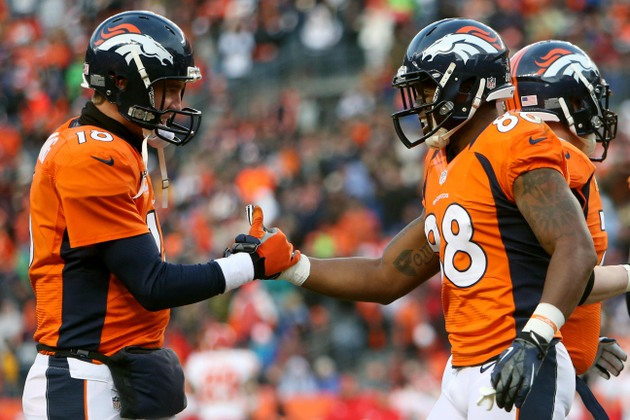 Broncos clinch the top seed in the AFC by pounding the Chiefs (…