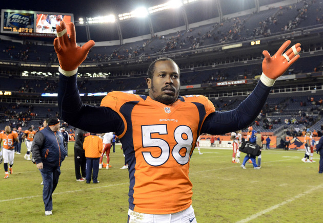 Von Miller says Facebook post on Joe Flacco isn't from him