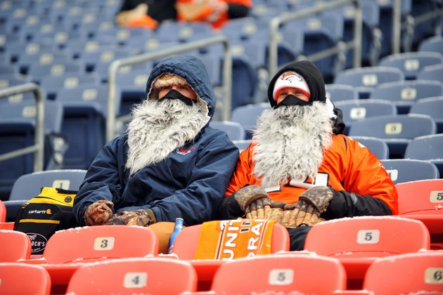 Welcome to Denver — it's cold (almost the coldest game of Peyto…