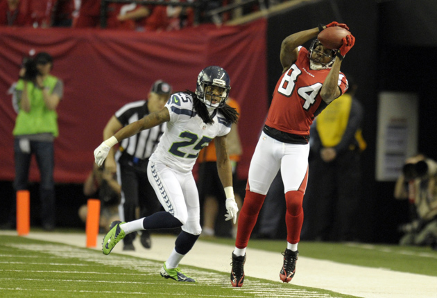 Richard Sherman can't help but applaud Julio Jones' ridiculous …