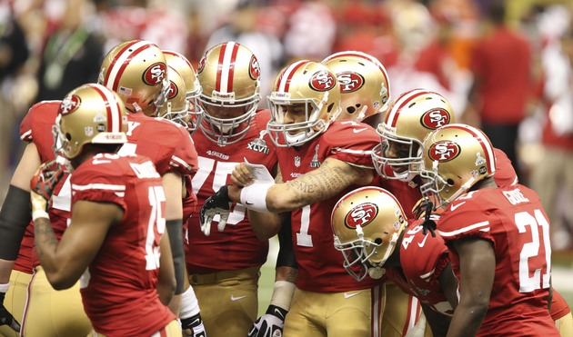 49ers had two weeks to prepare, and start Super Bowl by lining …