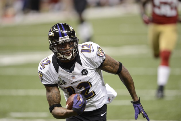 Jacoby Jones sets Super Bowl record with 109-yard touchdown, do…