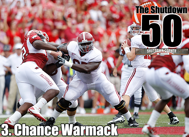 The Shutdown 50: Alabama OG Chance Warmack