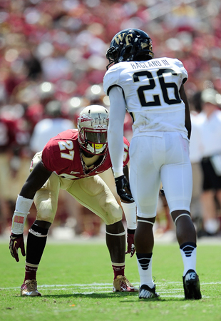 Minnesota Vikings select Florida State CB Xavier Rhodes with th…
