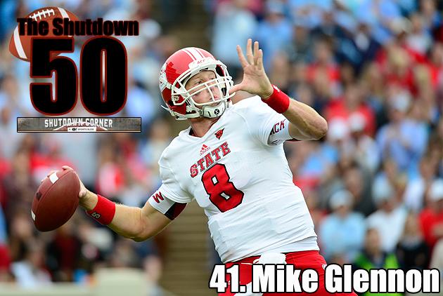 The Shutdown 50: North Carolina State QB Mike Glennon