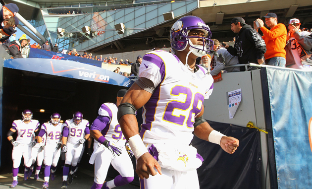 Adrian Peterson goes wild against Bears, scores two touchdowns …