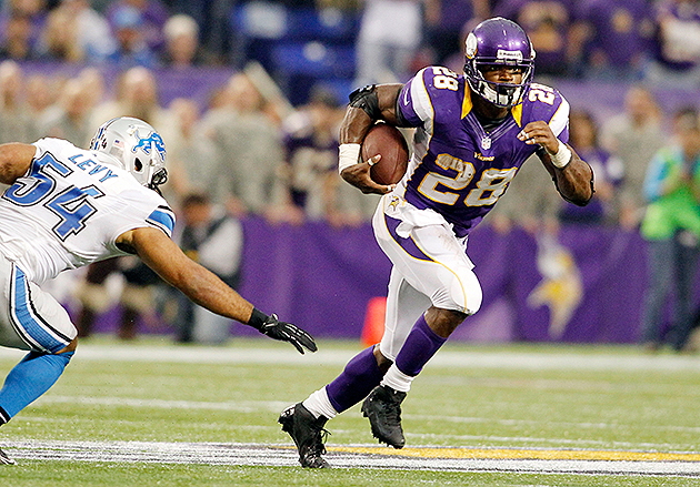 Vikings RB Adrian Peterson says a Lions player asked what he wa…