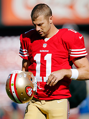 49ers quarterback Alex Smith ruled out for Monday night