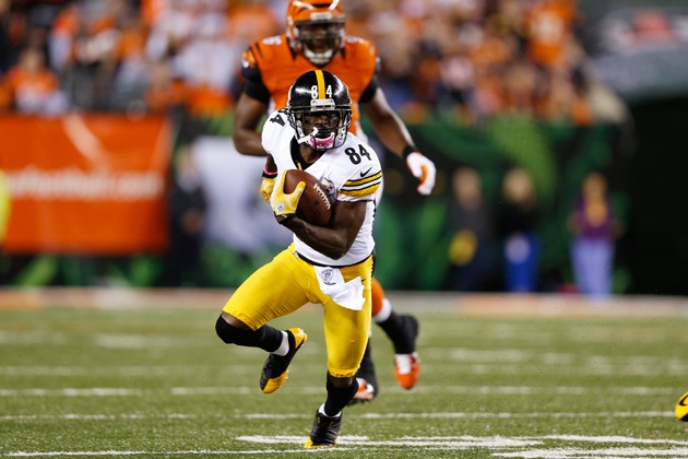 Antonio Brown, Percy Harvin headline early game NFL inactive li…