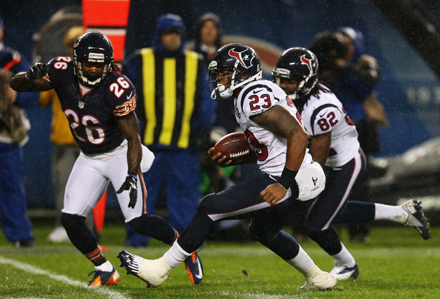 Arian Foster earned Brian Urlacher's respect