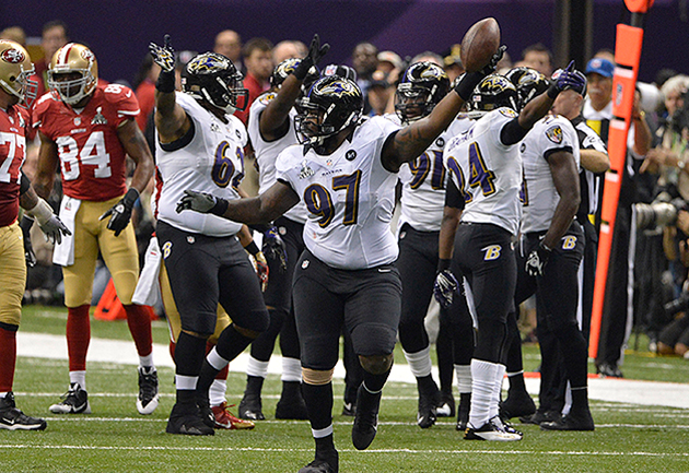 Early mistakes have 49ers in 14-3 hole to the Ravens in Super B…