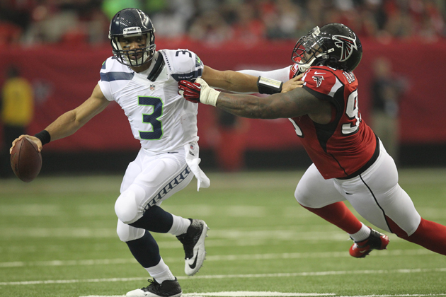 Seahawks end first half with no time left, and no points in red…