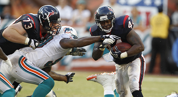 Ben Tate, Dustin Keller headline Texans-Jets inactive lists