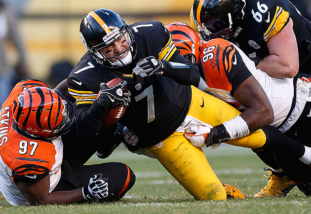Roethlisberger takes blame for picks, but healing needed