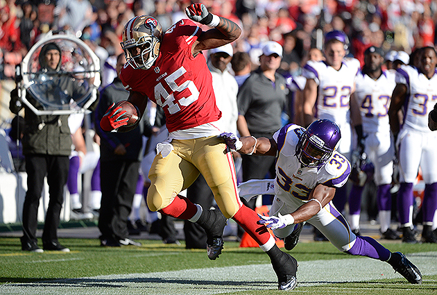 Brandon Jacobs frustrated by 49ers' role