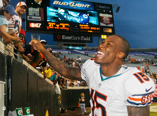 Stronger than ever, Brandon Marshall learns to live with Border…