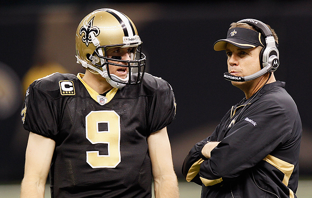 Payton, Vitt and Loomis will be on hand to watch Drew Brees bre…