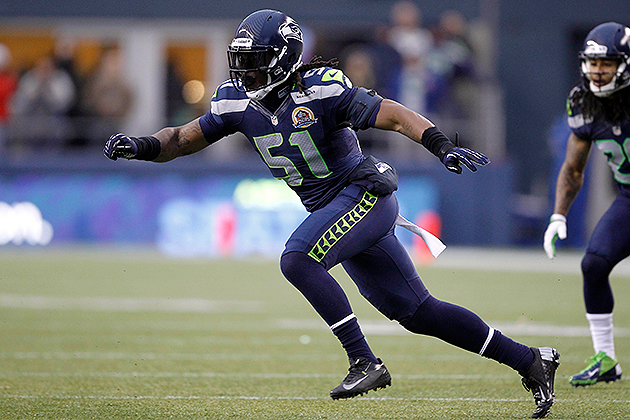Seahawks DE Bruce Irvin suspended four games for violating NFL'…