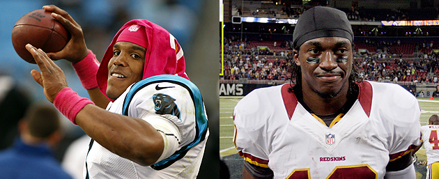 Compared to Cam Newton? RG3 would prefer Aaron Rodgers