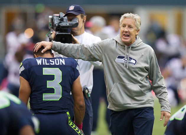 With offense and defense in sync, Pete Carroll successfully set…