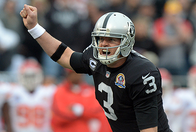 Cardinals acquire Carson Palmer from the Raiders