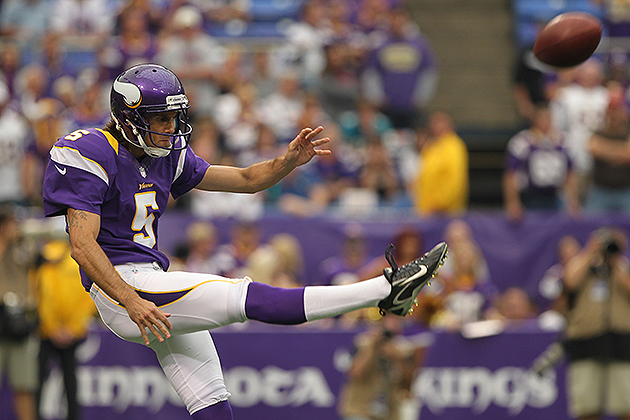 Report: Chris Kluwe is joining the Raiders