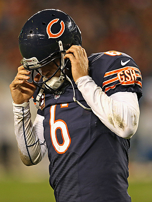 Jay Cutler, Alex Smith headline Bears, 49ers inactive lists