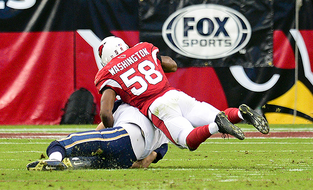 Cardinals, Washington delayed option bonus last month