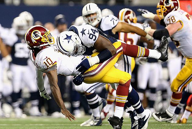 Jay Ratliff, Dejon Gomes headline Cowboys, Redskins inactive li…