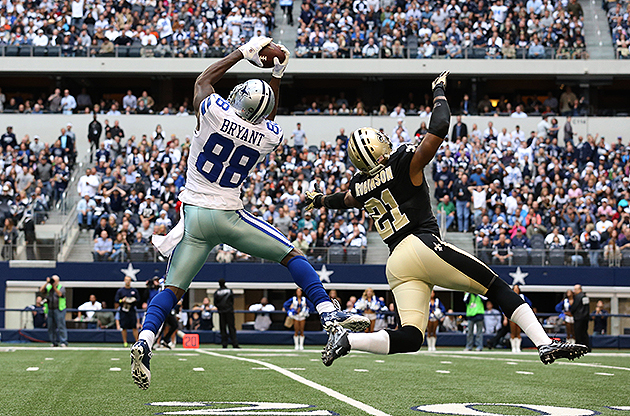 Cowboys wide receiver Dez Bryant eyeing 2,000-yard season