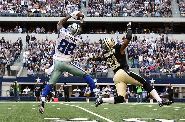 Cowboys wide receiver Dez Bryant eyeing 2,000-yard season