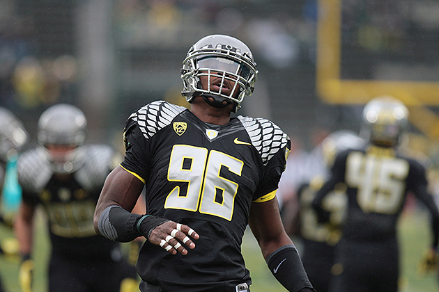 Dolphins trade up to No. 3 pick, select Oregon DE Dion Jordan