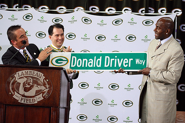 Donald Driver would only come out of retirement to play for the…
