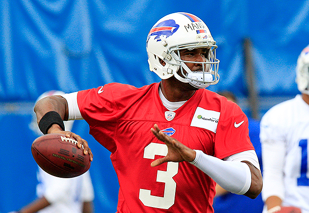 Bills first-round QB E.J. Manuel to start preseason opener