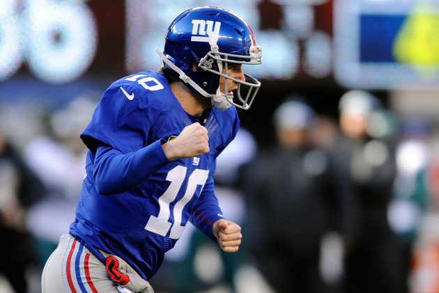 Eli Manning throws career-best five TD passes in Giants' rout o…
