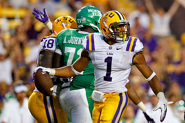 San Francisco 49ers select LSU safety Eric Reid with the 18th o…