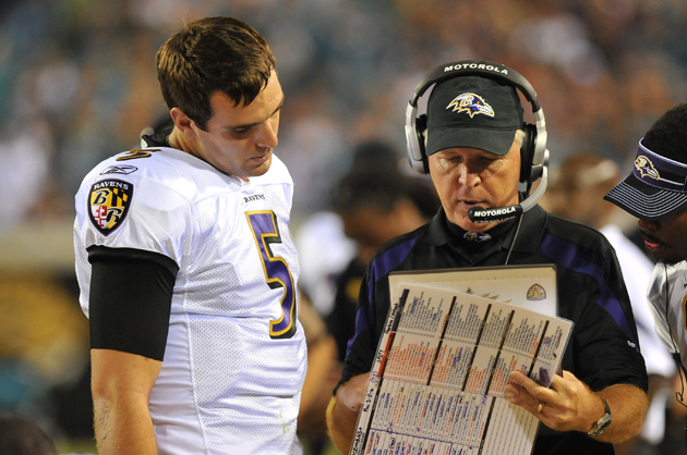 Baltimore Ravens fire offensive coordinator Cam Cameron, replac…
