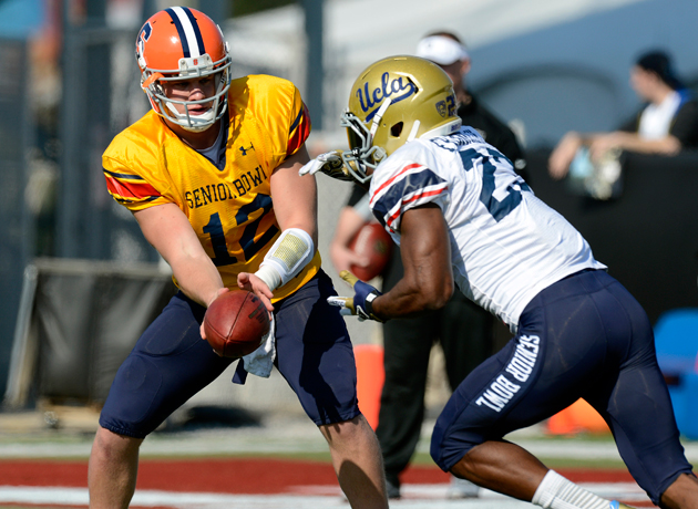 Senior Bowl Report: For North team backs, size is not the issue