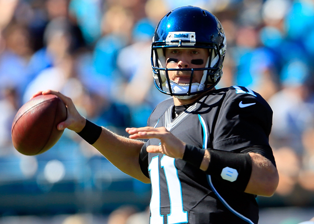 Blaine Gabbert exits game with right elbow injury