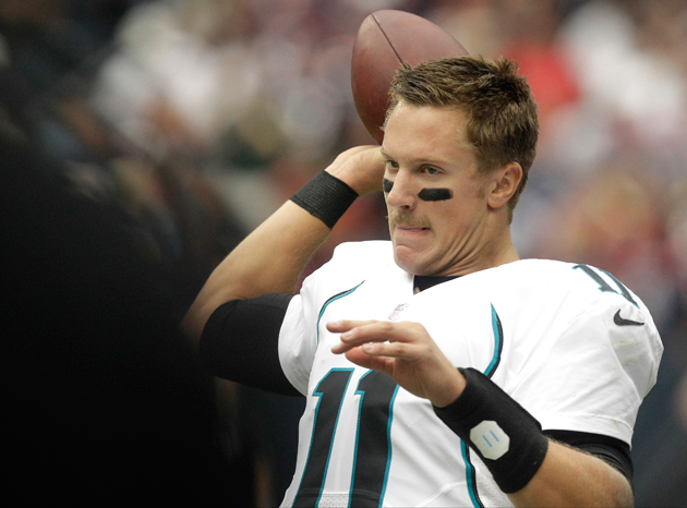 Jags say that Blaine Gabbert would be the best QB in 2013 draft…