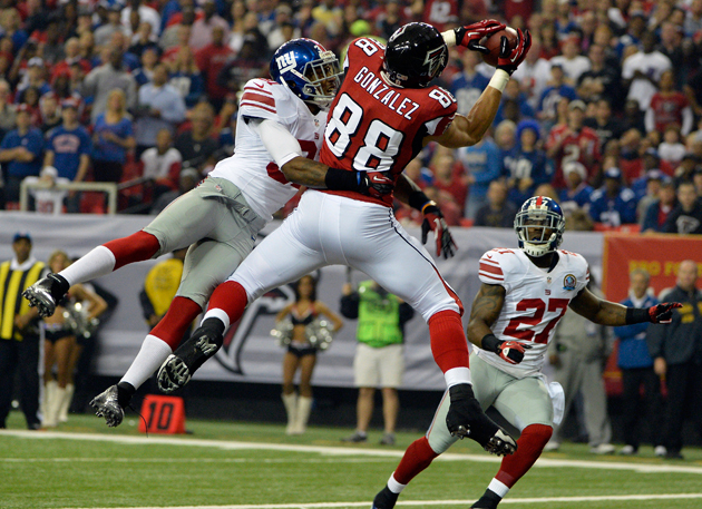 Falcons receivers Roddy White and Julio Jones are ready for Sea…
