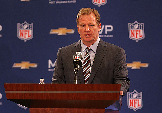 Goodell Meets With Browns Owner