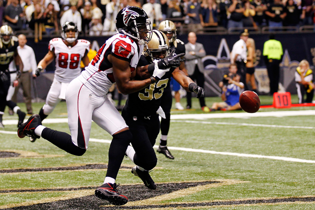 Saints end Falcons' unbeaten streak with the right play at the …