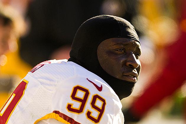 Redskins defensive end Jarvis Jenkins suspended four games for …