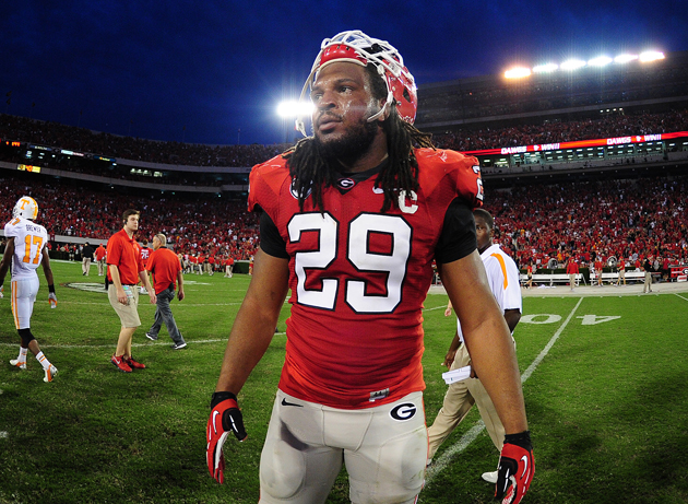 Pittsburgh Steelers select Georgia OLB Jarvis Jones with the 17…